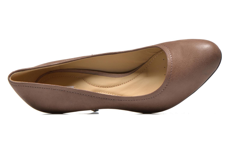 Zapatos de tacón Geox D Donyale D Marrón vista lateral izquierda