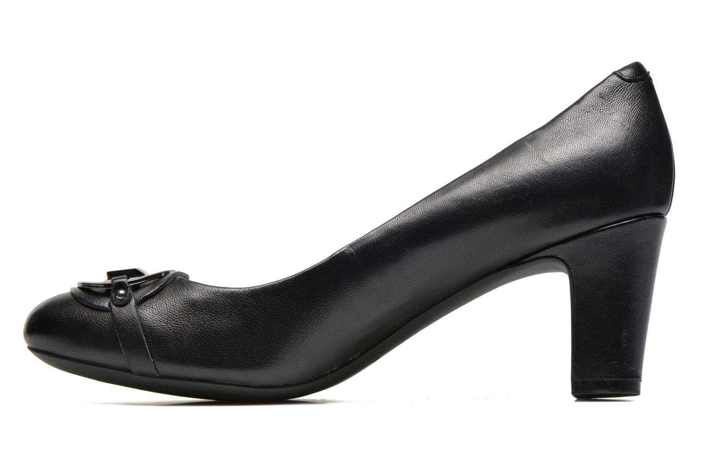 High heels Geox D Mariele Mid B D44T7B Black front view