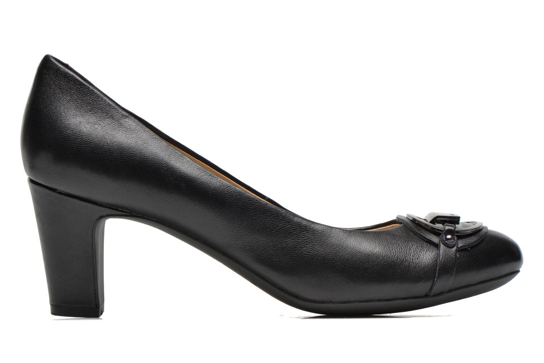 High heels Geox D Mariele Mid B D44T7B Black back view