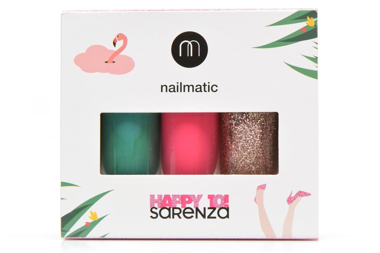 Soins et beauté des pieds Nailmatic Coffret vernis Heart of Grass Multicolore vue portées chaussures
