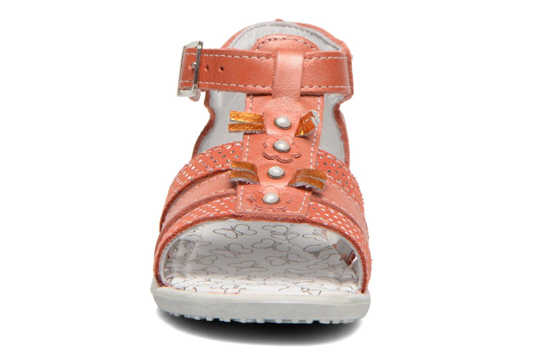 Sandales et nu-pieds Bopy Bastrid Orange vue portées chaussures