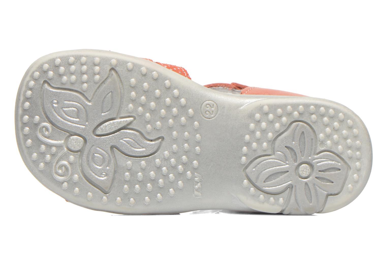Sandales et nu-pieds Bopy Bastrid Orange vue haut