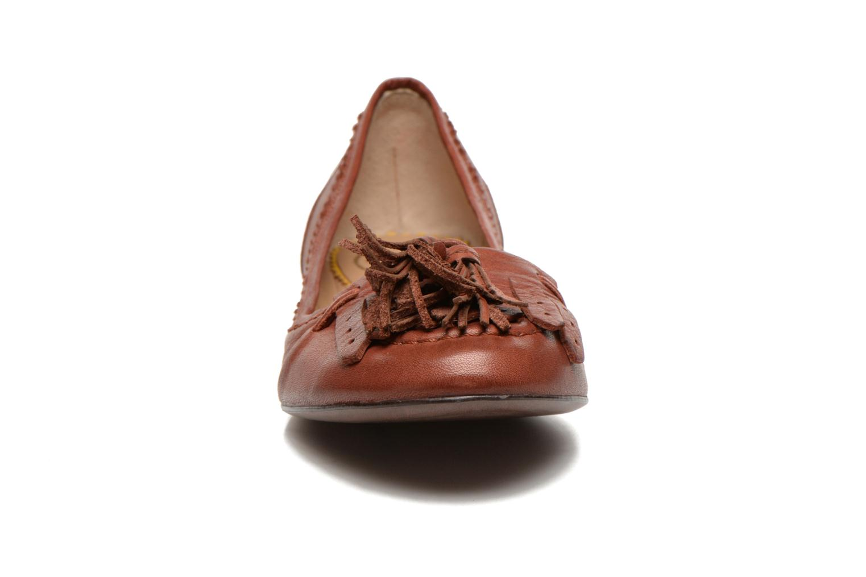 Ballerines JB MARTIN Ballet Marron vue portées chaussures