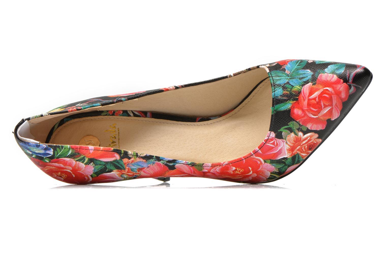 Kalama Red Flower Textile