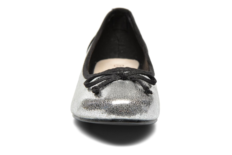 Ballerines Divine Factory Ballerino Argent vue portées chaussures