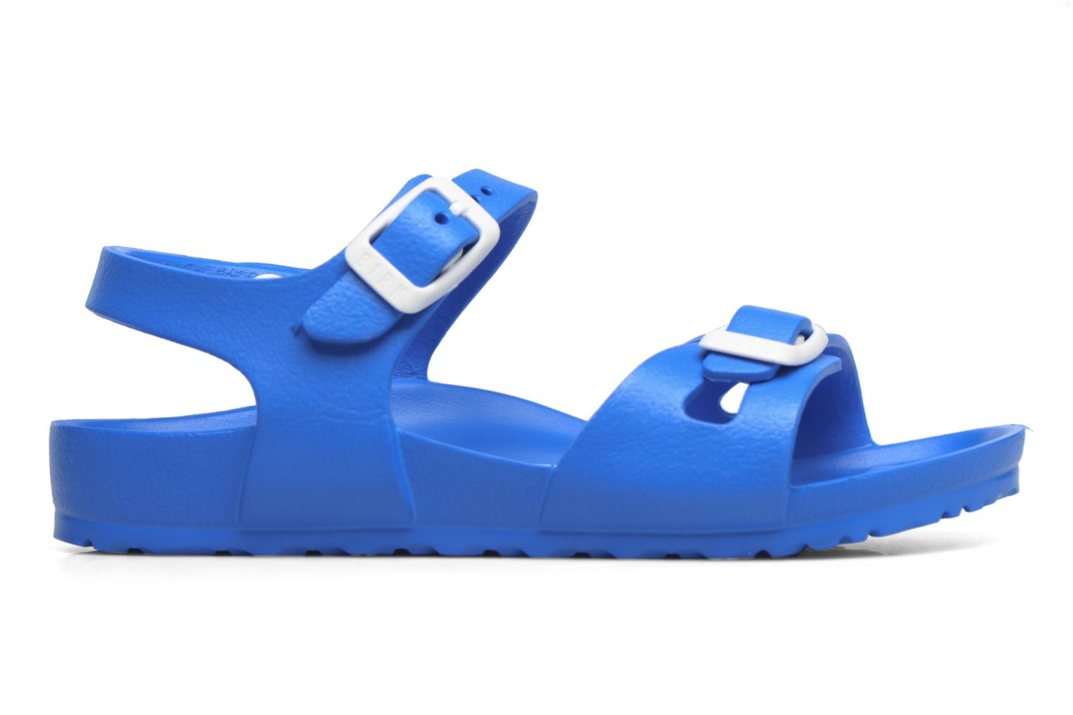 Sandals Birkenstock Rio EVA Blue back view