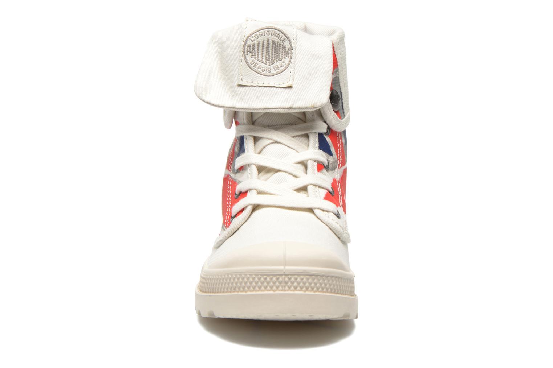 Baskets Palladium Baggy gb k Blanc vue portées chaussures