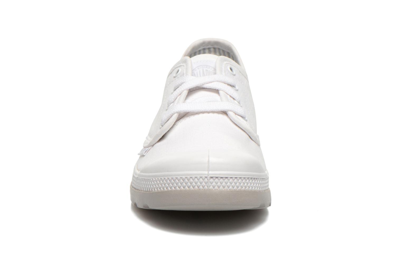 Baskets Palladium Oxford lite kid Blanc vue portées chaussures