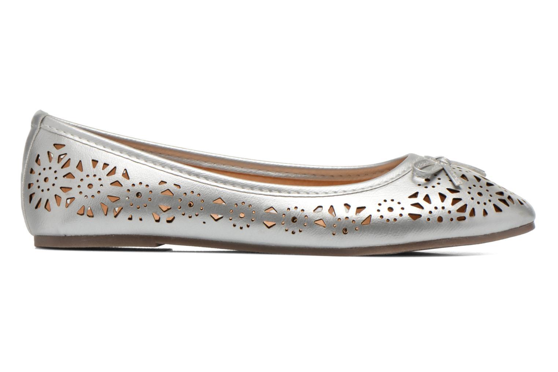 Ballet pumps I Love Shoes Suflatou Silver back view