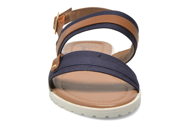 Sandales et nu-pieds I Love Shoes Subandi Bleu vue portées chaussures