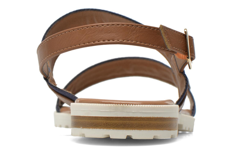 Sandales et nu-pieds I Love Shoes Subandi Bleu vue droite