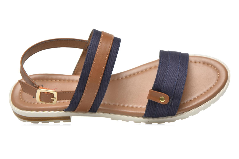 Sandales et nu-pieds I Love Shoes Subandi Bleu vue gauche