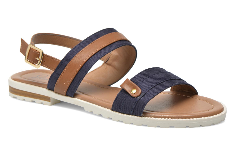 Sandales et nu-pieds I Love Shoes Subandi Bleu vue détail/paire