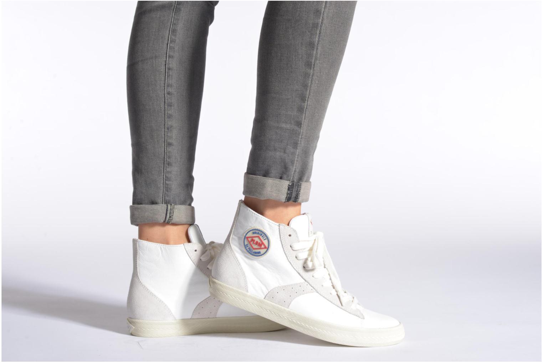 Sneaker P-L-D-M By Palladium Braden Cash schwarz ansicht von unten / tasche getragen