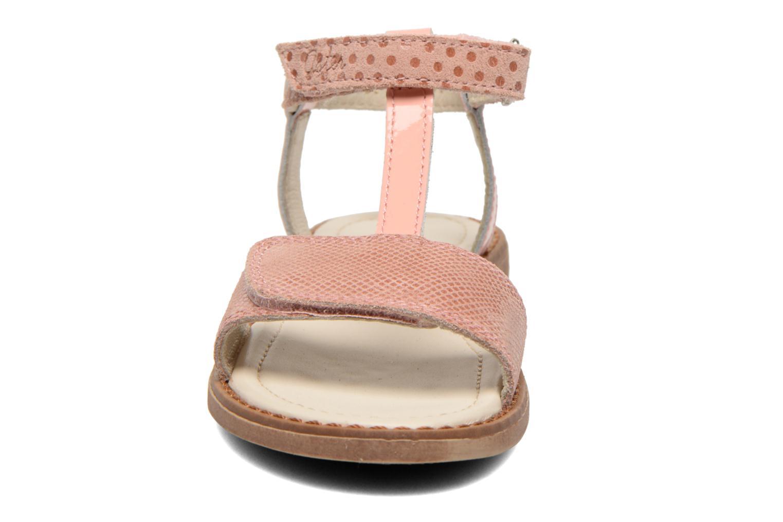 Sandalen Aster Thea rosa schuhe getragen