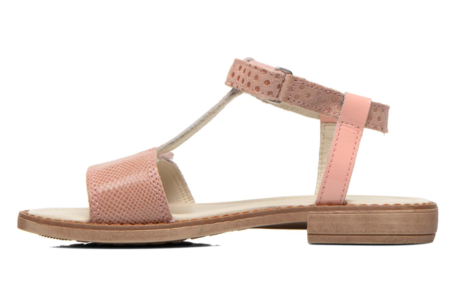 Sandals Aster Thea Pink front view