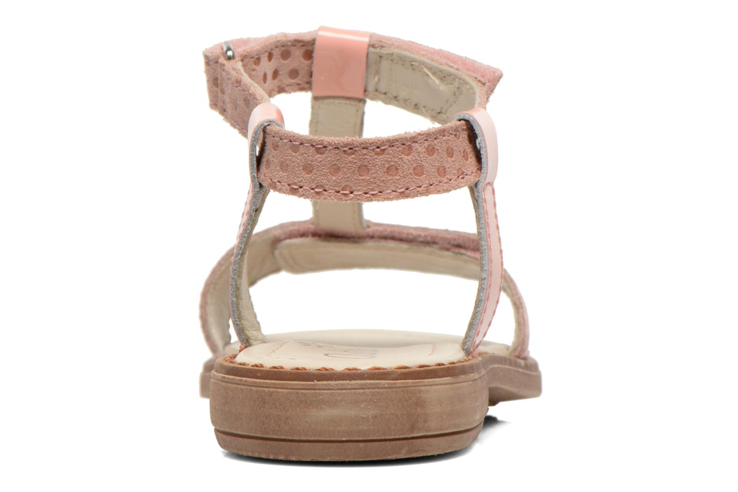 Sandals Aster Thea Pink view from the right