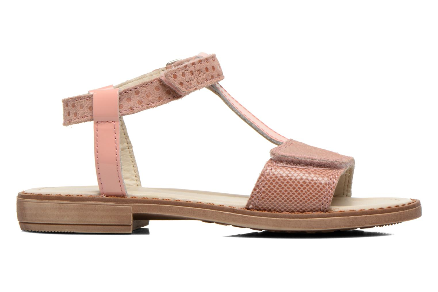 Sandals Aster Thea Pink back view