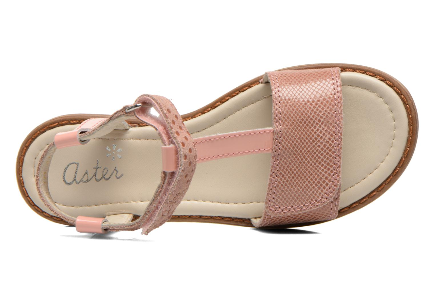 Sandals Aster Thea Pink view from the left