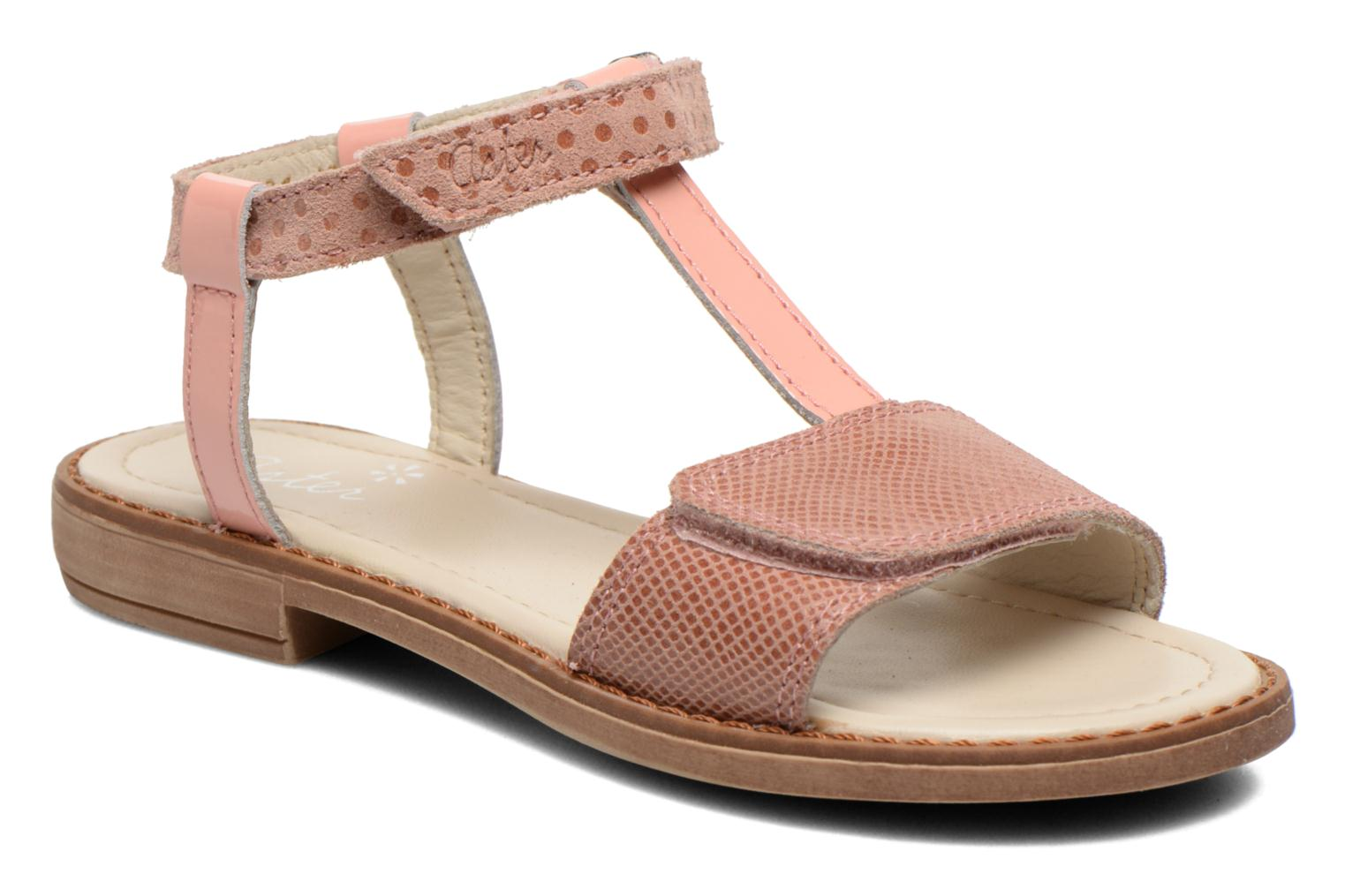 Sandals Aster Thea Pink detailed view/ Pair view