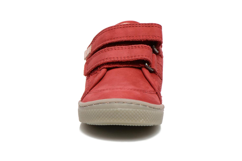 Chaussures à scratch Mod8 Virgile Rouge vue portées chaussures