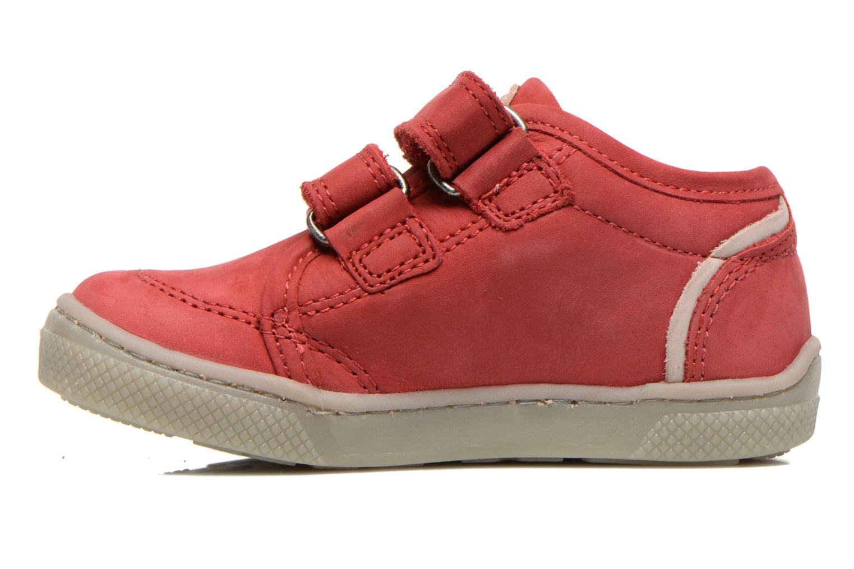 Chaussures à scratch Mod8 Virgile Rouge vue face