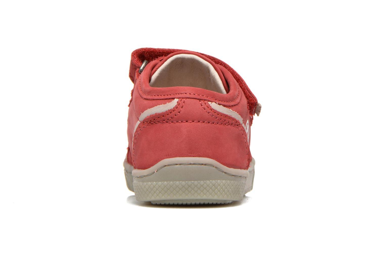 Chaussures à scratch Mod8 Virgile Rouge vue droite