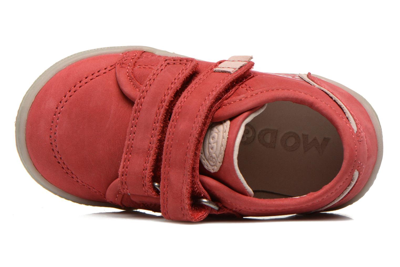 Chaussures à scratch Mod8 Virgile Rouge vue gauche
