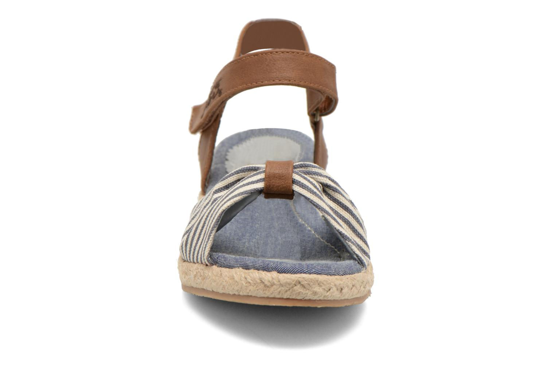 Sandalias I Love Shoes Sudrira Azul vista del modelo