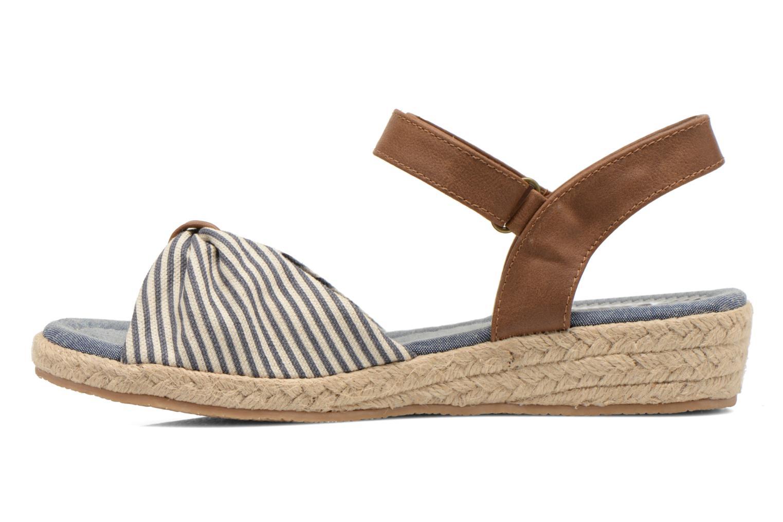 Sandalias I Love Shoes Sudrira Azul vista de frente