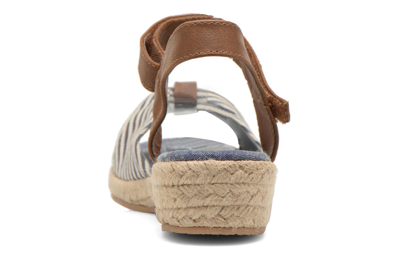 Sandalias I Love Shoes Sudrira Azul vista lateral derecha