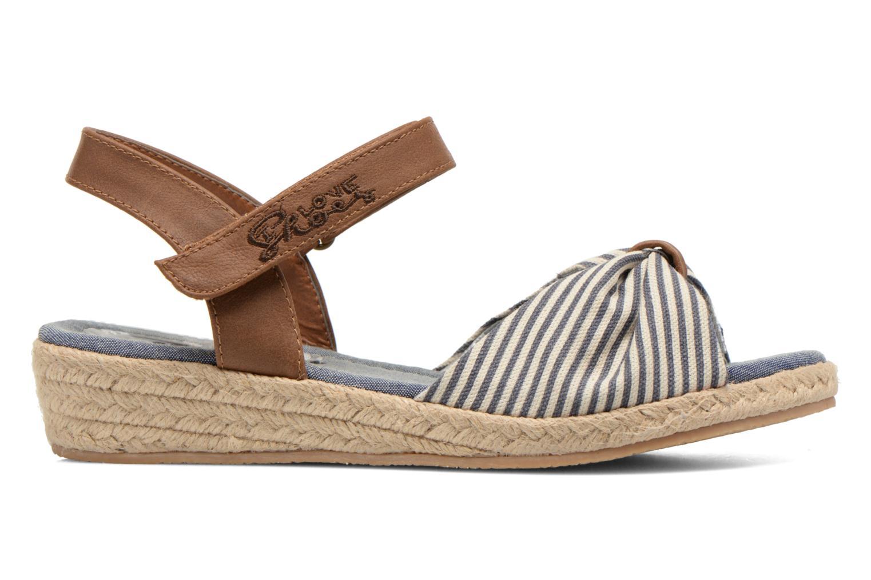 Sandalen I Love Shoes Sudrira blau ansicht von hinten