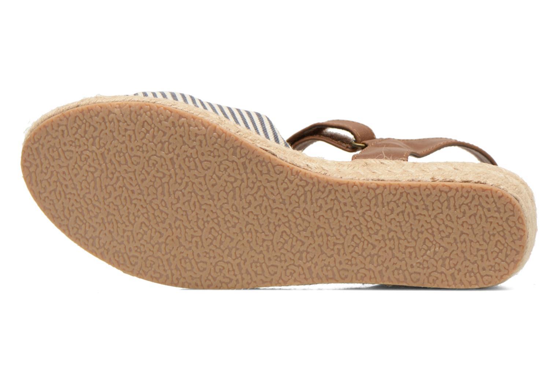 Sandalias I Love Shoes Sudrira Azul vista de arriba