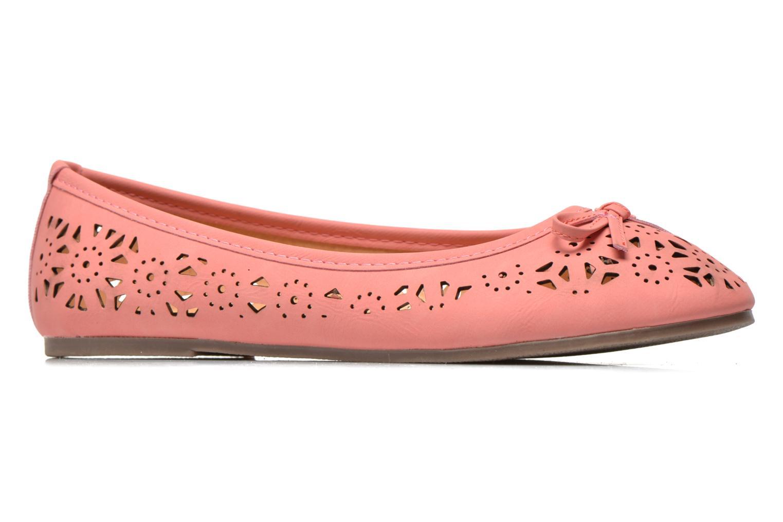 Ballet pumps I Love Shoes Suflata Pink back view
