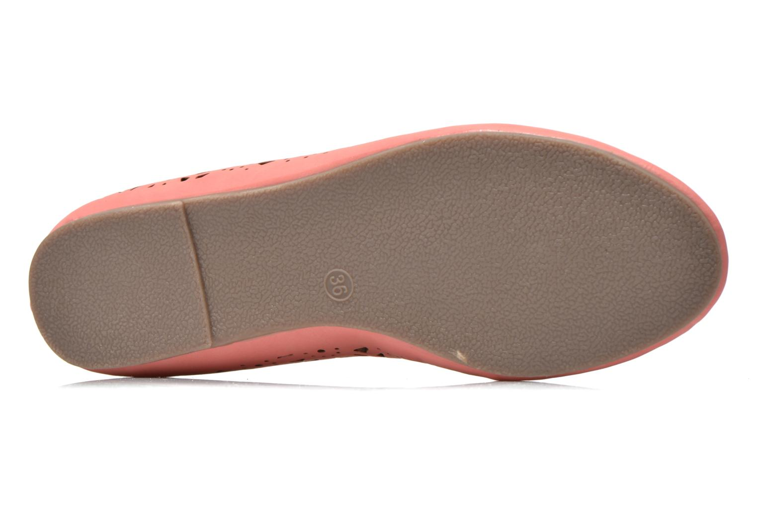 Ballet pumps I Love Shoes Suflata Pink view from above