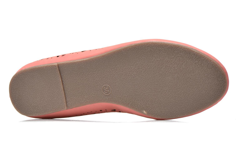 Ballerines I Love Shoes Suflata Rose vue haut
