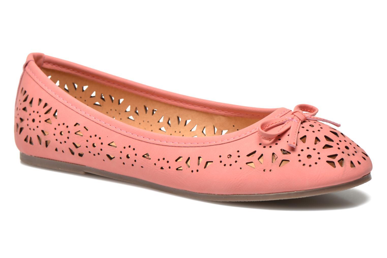 Ballerines I Love Shoes Suflata Rose vue détail/paire