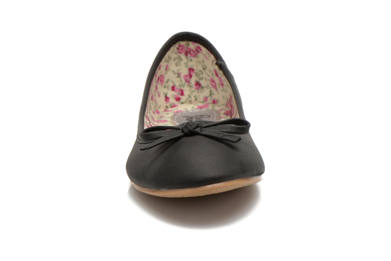 Ballerines I Love Shoes Sufllatina Noir vue portées chaussures