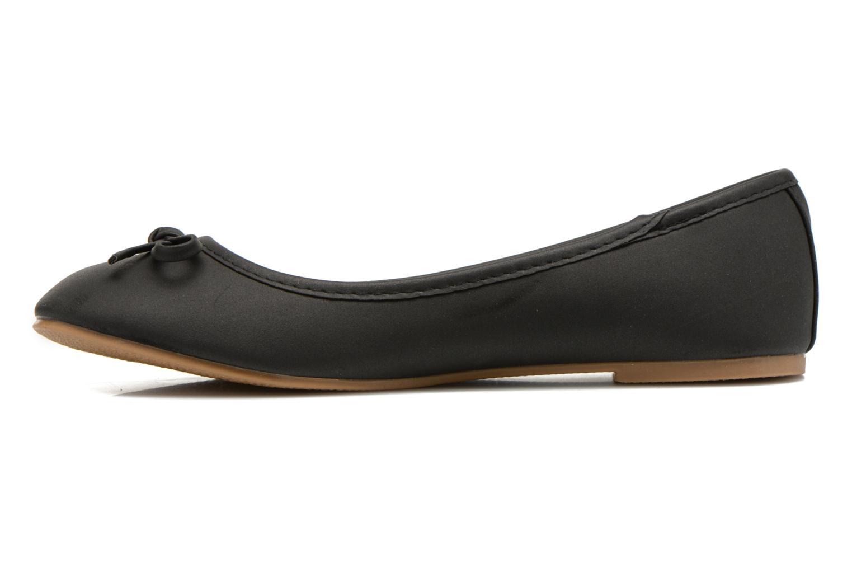Ballerinas I Love Shoes Sufllatina schwarz ansicht von vorne