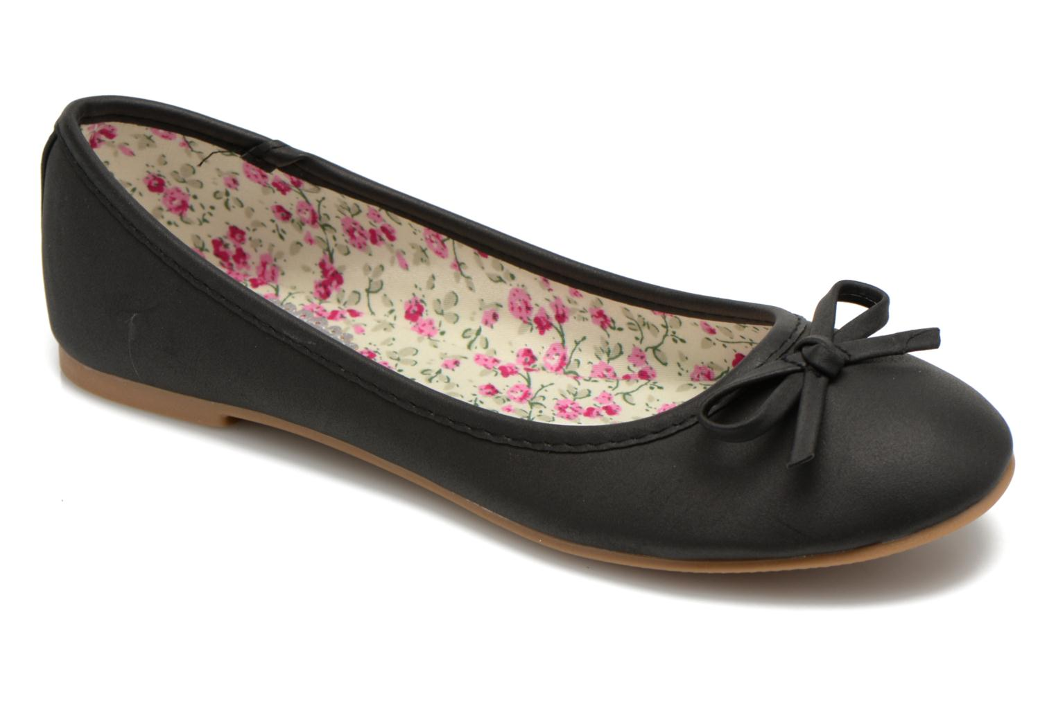 Ballet pumps I Love Shoes Sufllatina Black detailed view/ Pair view