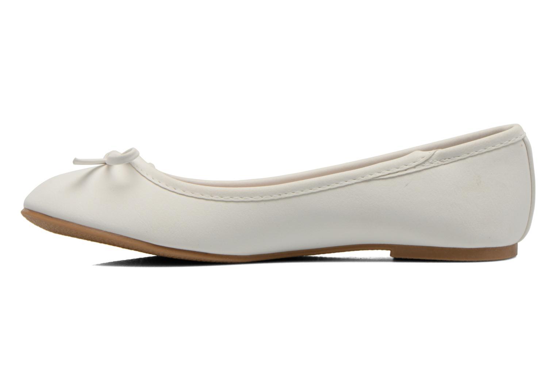 Ballerines I Love Shoes Sufllatina Blanc vue face