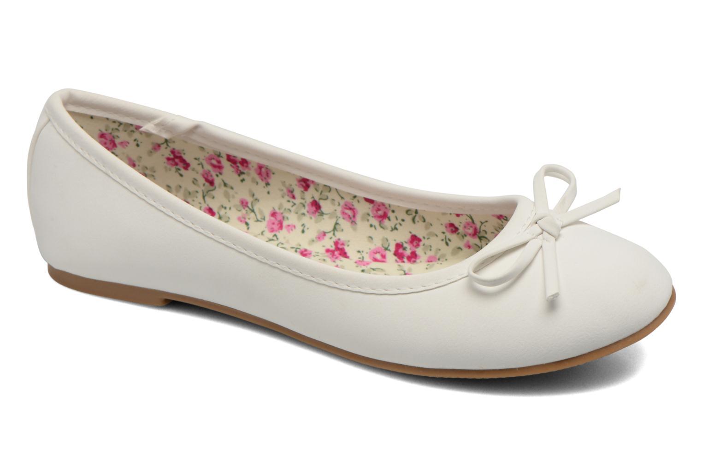 Ballerines I Love Shoes Sufllatina Blanc vue détail/paire