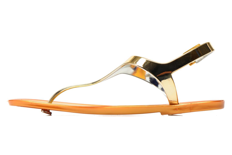 Sandales et nu-pieds Xti Okinawa-26987 Or et bronze vue face