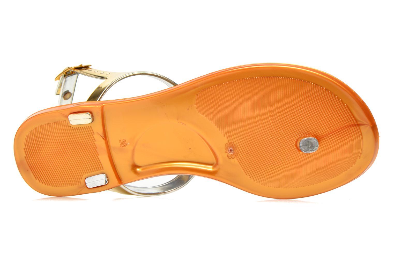 Sandales et nu-pieds Xti Okinawa-26987 Or et bronze vue haut