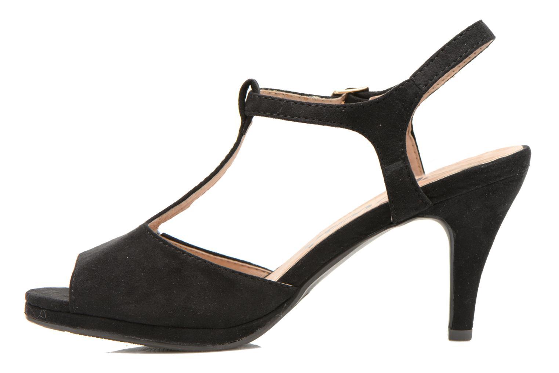 Sandals Refresh Wanita Black front view