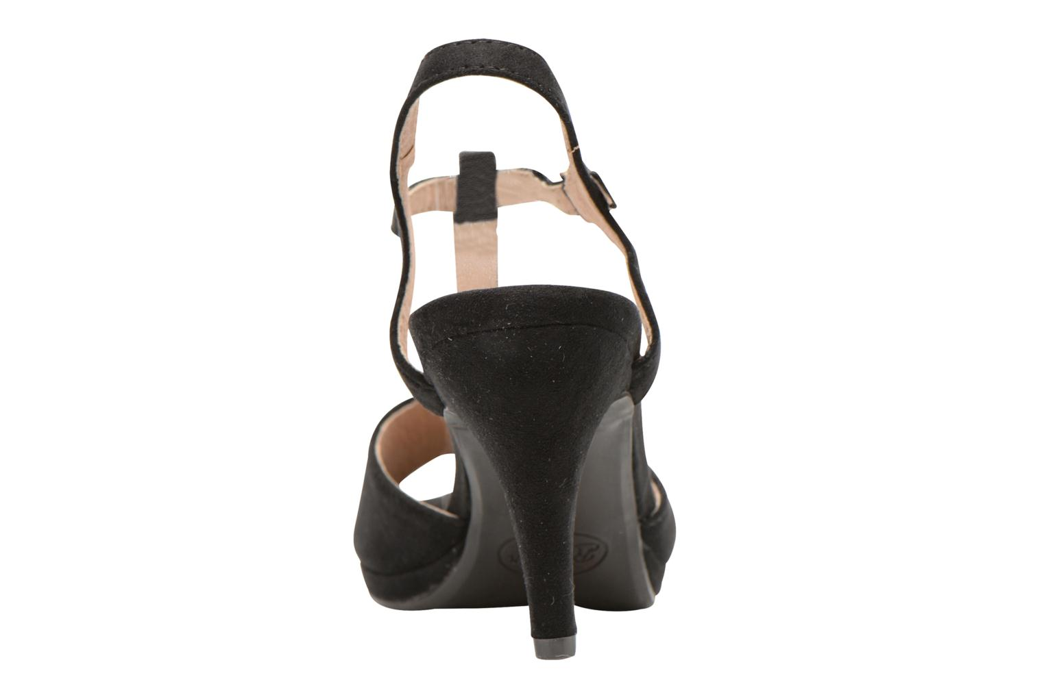 Sandals Refresh Wanita Black view from the right