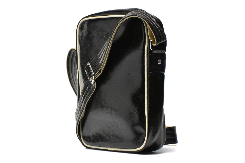Classic side bag Black-Ecru 102