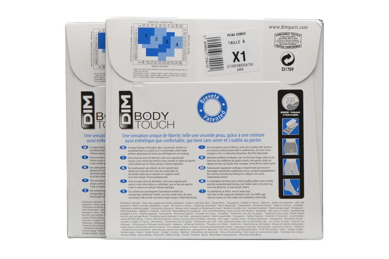 Calze e collant Dim Collant BODY TOUCH VOILE Pacco da 2 Incolore immagine posteriore