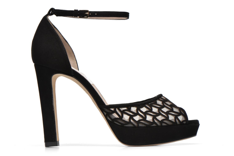 Sandales et nu-pieds L.K. Bennett Simone Noir vue derrière