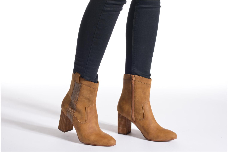 Stiefeletten & Boots Esprit Flora Bootie braun ansicht von unten / tasche getragen